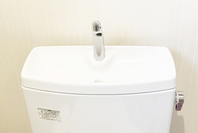 トイレタンクの手洗い蛇口の取り外し方と掃除方法